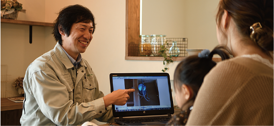 浜松市の工務店でエコーアート主催の相談会イメージ写真