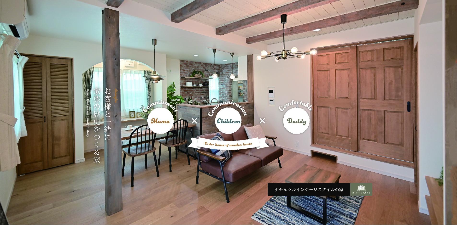浜松市の注文住宅会社のエコーアートが建てたキッチン写真