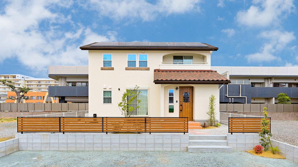 浜松市でZEH・ゼロエネルギー住宅のエコーアートが建てた施工写真