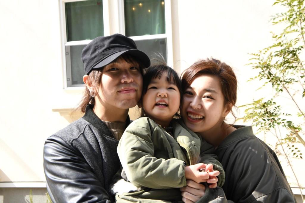 浜松市の注文住宅会社のエコーアートが建てたM様のご家族写真
