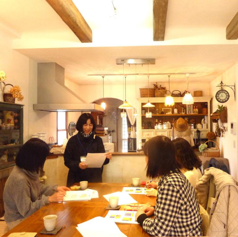 浜松市の注文住宅会社のエコーアートが主催するおけいこイベント整理収納教室写真
