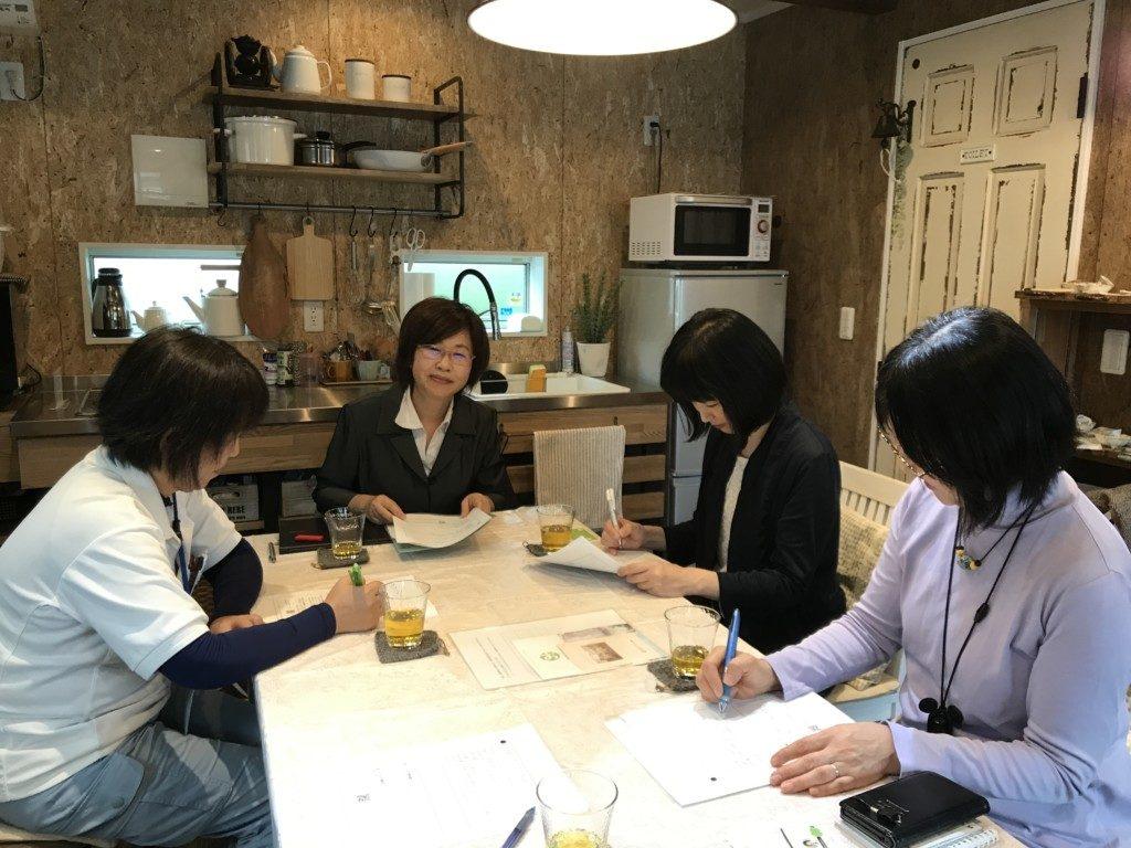 浜松市の注文住宅会社のエコーアートが主催するおけいこイベント断捨離教室写真