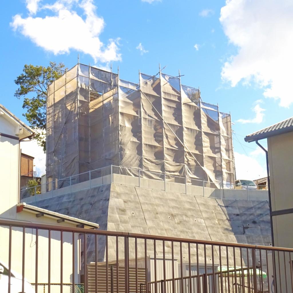 浜松市で塔がある家が得意なエコーアートが撮った上棟写真