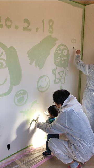 浜松市の注文住宅会社のエコーアートが考える家づくりの思い出を提供する場面