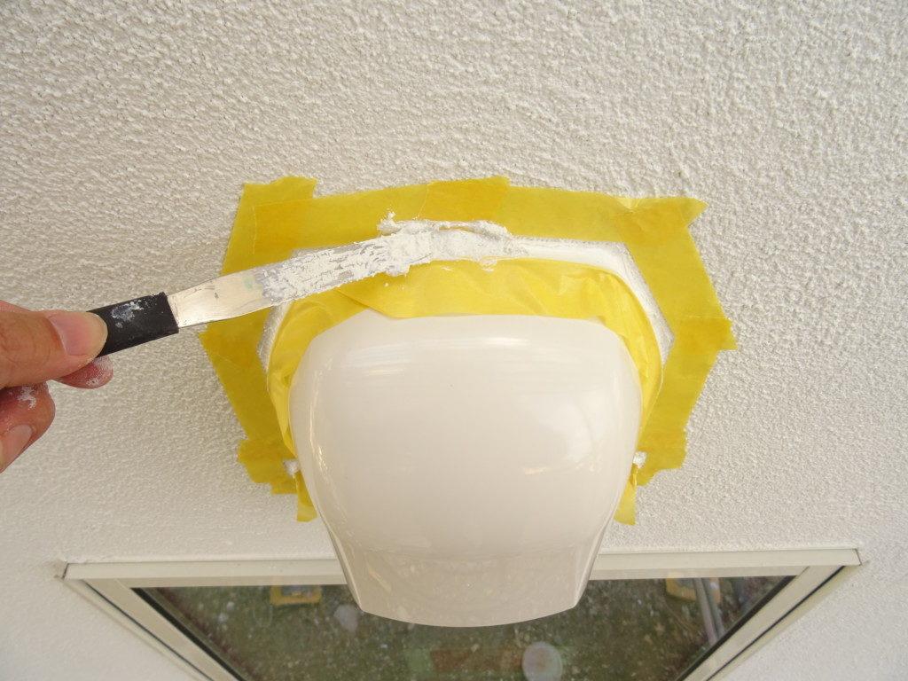 浜松市でメンテナンスが掛かりにくい家を造っているエコーアートのフード塗り壁材塗布正面写真