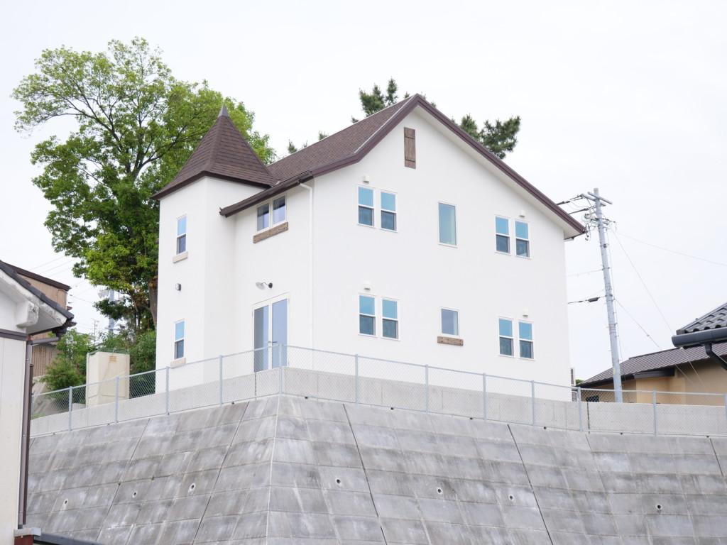 浜松市の注文住宅会社のエコーアートが行うオンライン見学会会場の外観写真