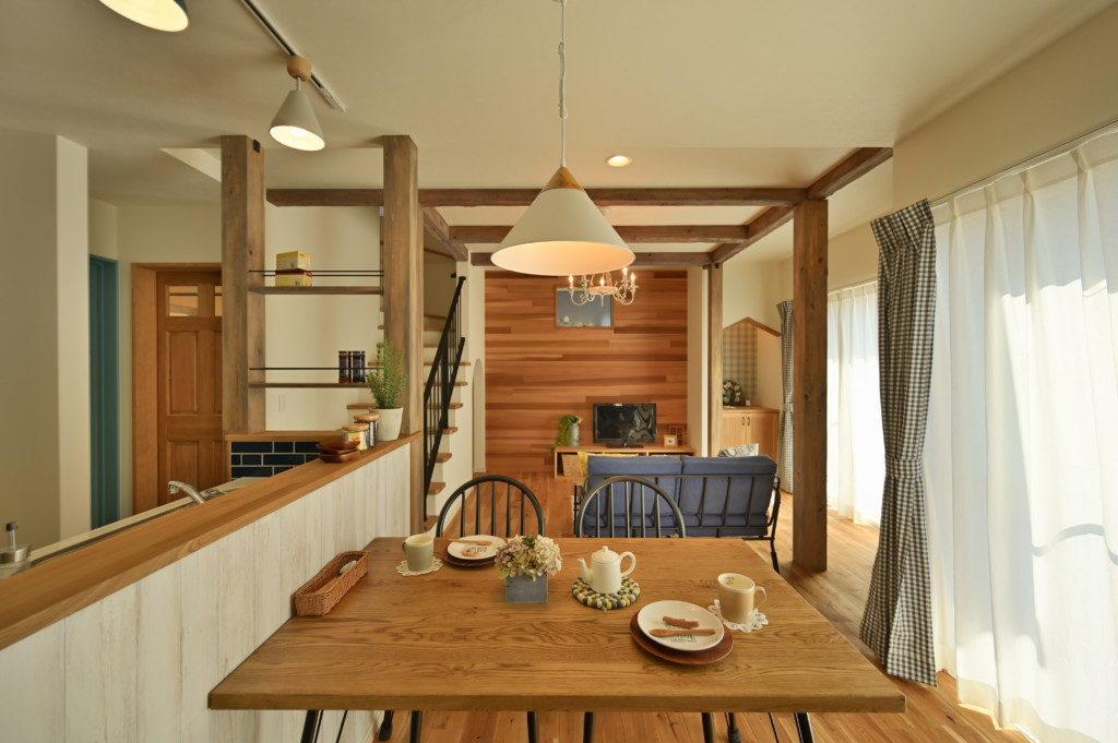 浜松市で間取りを考えた家づくりを実践しているエコーアートの施工写真