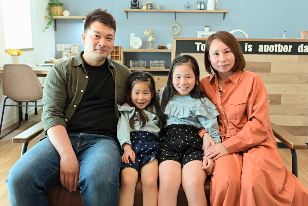 浜松市の注文住宅会社のエコーアートが建てた西区M様邸のインタビュー写真