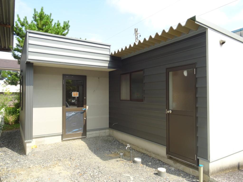 浜松市の注文住宅会社のエコーアートが行った増築工事の工事中写真