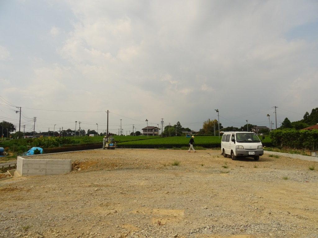 浜松市で土地探し進めてエコ―アートで建てることになったお客様の建築地の写真