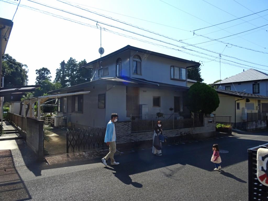 浜松市の注文住宅会社のエコーアートが行う解体前打ち合わせの写真