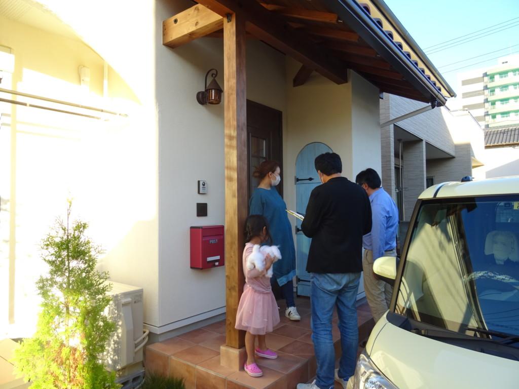 浜松市の注文住宅のエコーアートが行ったインタビュー風景写真