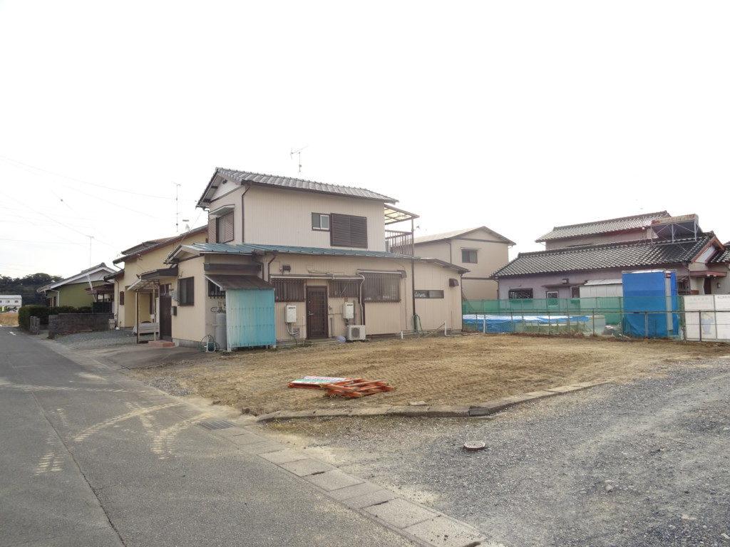 住宅の解体完了後の写真