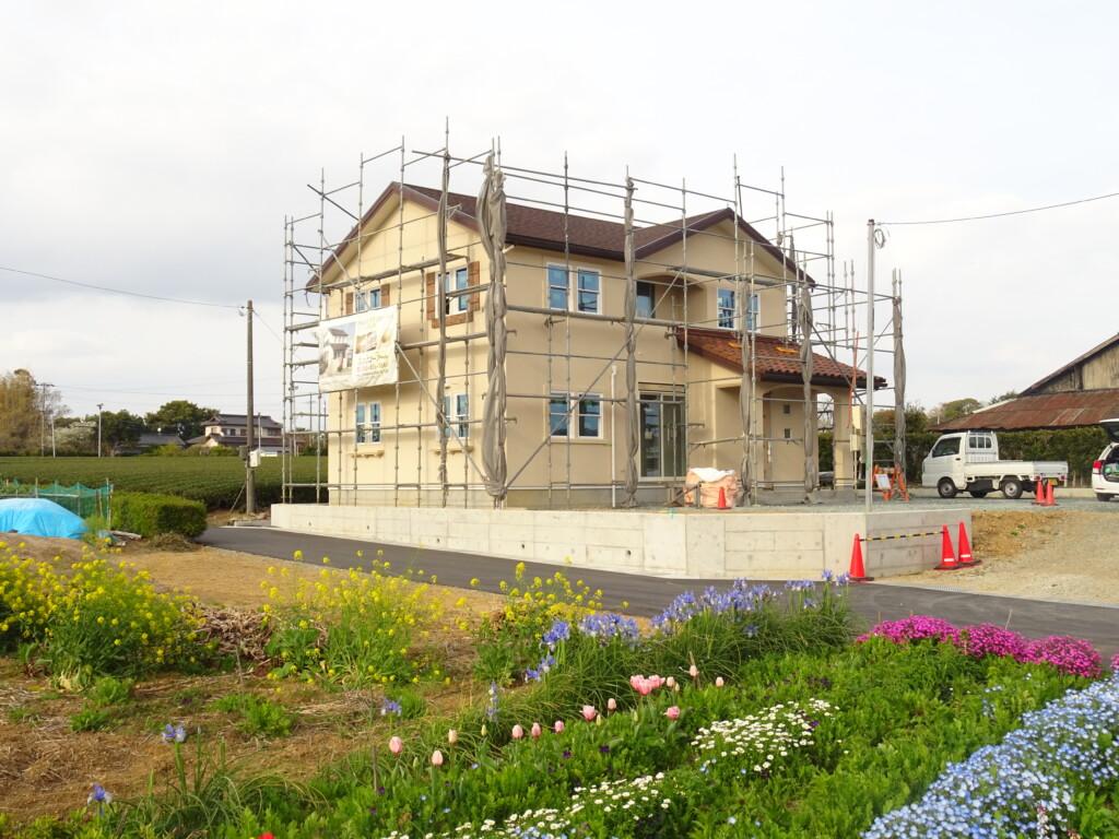 浜松市の注文住宅会社のエコーアートが撮影した袋井市I様邸の外観写真