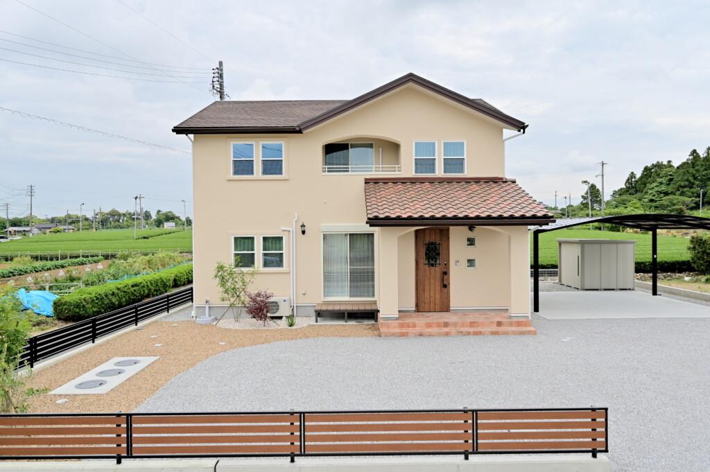 浜松市の注文住宅会社のエコーアートが行うナチュラルヴィンテージスタイルの家の見学会のお知らせ